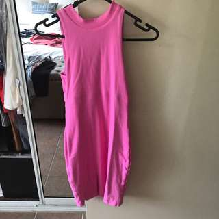 Kookai High Neck Party Dress (size 8)