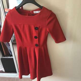 Sunnygirl Winter Party Dress Size 8