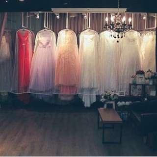 婚紗/白紗/晚禮服/伴娘服 拍賣