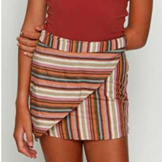 Ava & Ever Striped Skirt