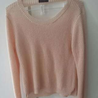 Apricot Fushion Jumper