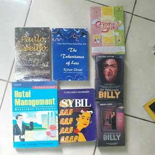 Buku dan Novel