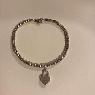 tiffany small bead bracelet