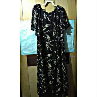 Dress Panjang Flower