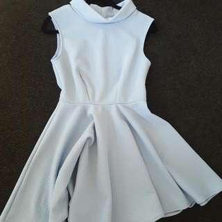 Baby Blue Cute Dress