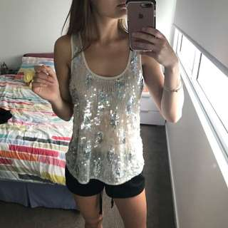 Sequin Top From Sports girl
