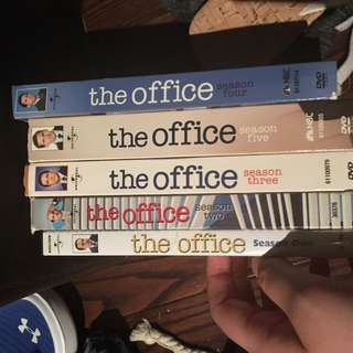 Seasons 1-5 Of The Office