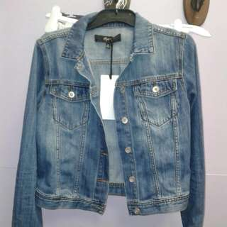 Max Denim Jacket Size 8 with Tags RRP $119.99