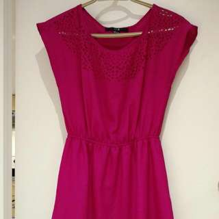 FV21 Bright Pink Dress