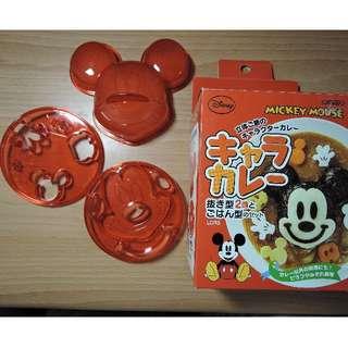 (降價!!! )日本正版阿卡醬 迪士尼 米奇造型壓飯模型