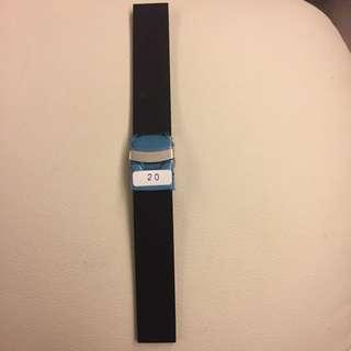 橡膠錶帶(2cm)