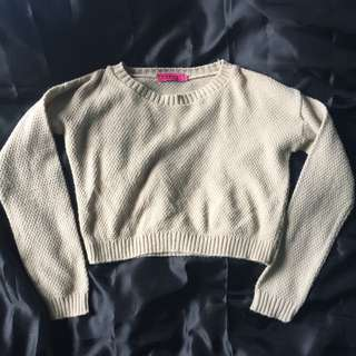 Boohoo Cropped Knit