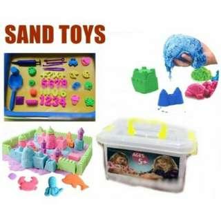 Kinectic Sand New 2kg Sand Set