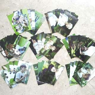 BTS 17520 Muster Zipcode Photocard Sets