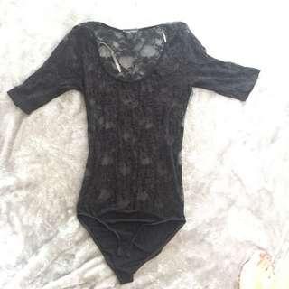 F21 Lace Bodysuit