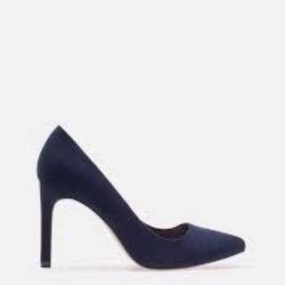 DICARI Stradivarius Blue Navy Heel Sz 35