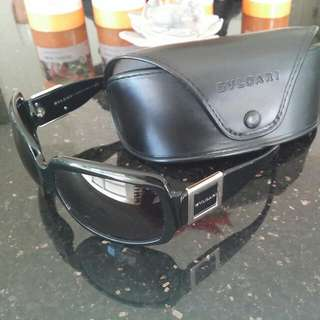 Bvlgari Authentic Sunglasses Discontinued Style Excellent Condition