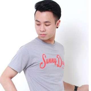 [SALE] Sunny Days T Shirt - Grey