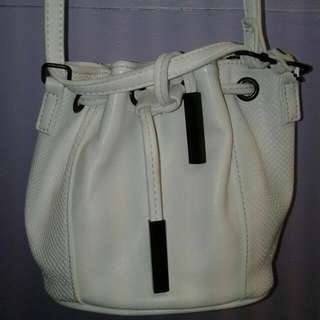 Collette Shoulder Bag - White Brand New RRP  $44.90