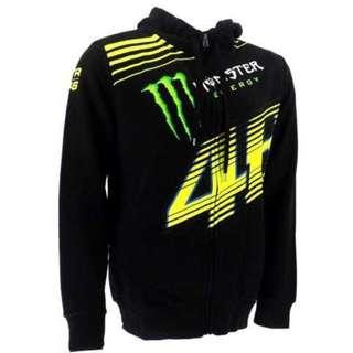 Rossi 46 Monster Energy Black Hoodie / Jacket