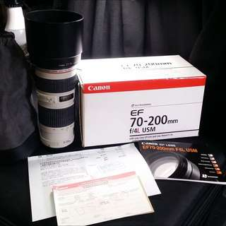 Canon Lens Ultrasonic 70-200mm