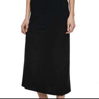 (NEW) Cotton On Black Maxi Skirt