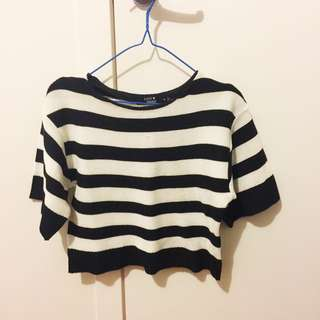 Paper Heart Crop Knit Size 8