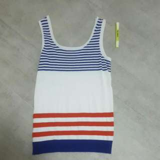 Hollyque Strip Tank Top