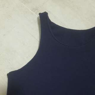 BN Crop Top Navy