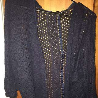 Cotton On Knit Cardigan Size Small
