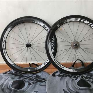 Reynolds Assault 46mm Clincher, 10sp Ult, Conti Gatorhardshells