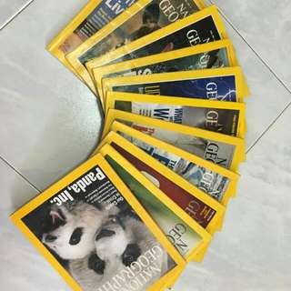 National Geographic Past Issues (more Than 100 Issues)