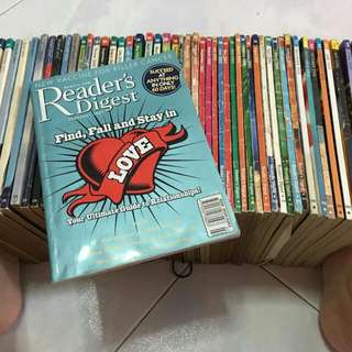 Readers Digest Past Issues (more Than 100 Issues)