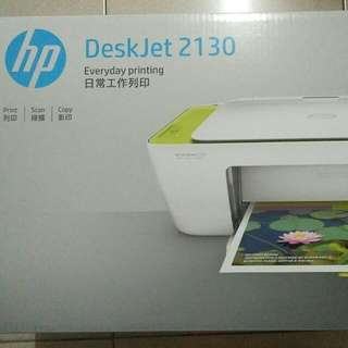 HP DeskJet 2130 All-in-one 相片噴墨多功能物務機