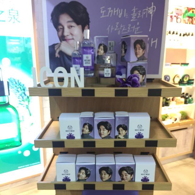 鬼怪香水/孔侑香水/The Body Shop