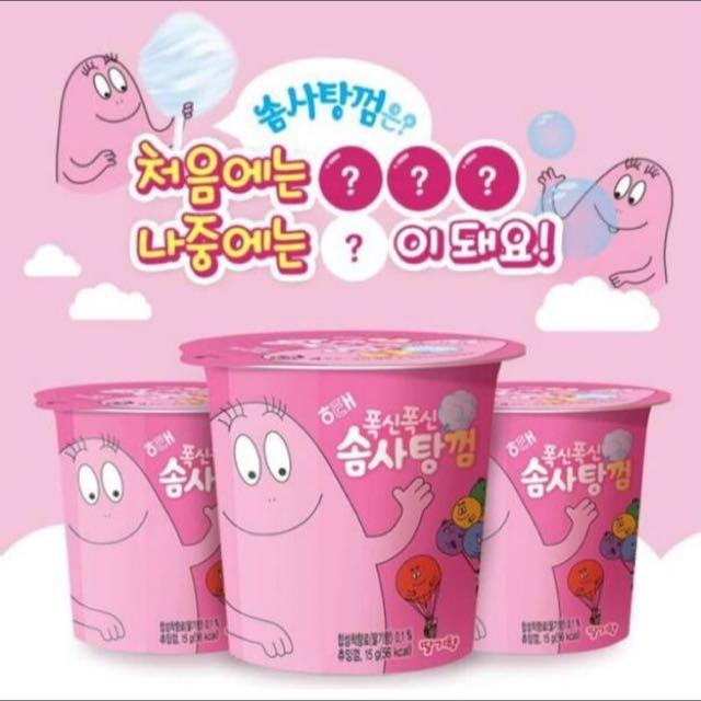 韓國泡泡先生棉花糖口香糖