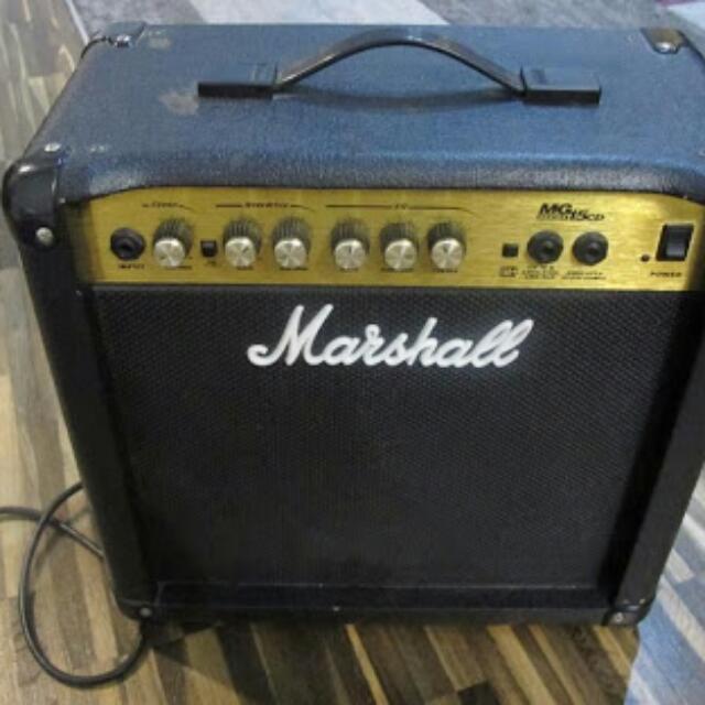 Ampli Marshall MG15CD