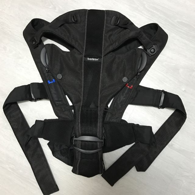 394485b3122 Baby Bjorn - Baby Carrier Original - Mesh Black on Carousell