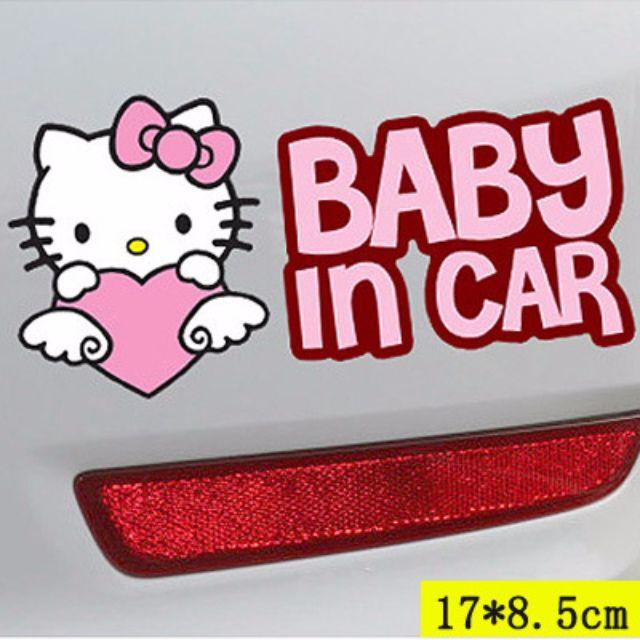 ✨現貨✨寶寶BABY IN CAR車貼