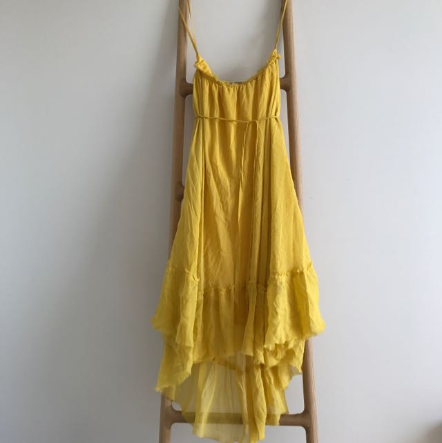 Band Of Outsiders Off Shoulder Flow Dress Sz8-10