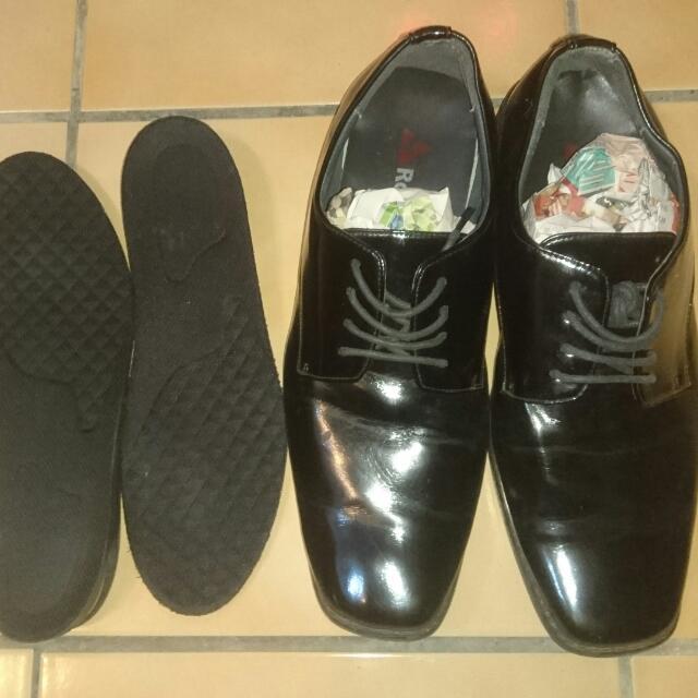 黑色Black西裝皮鞋 好穿買送新春好禮