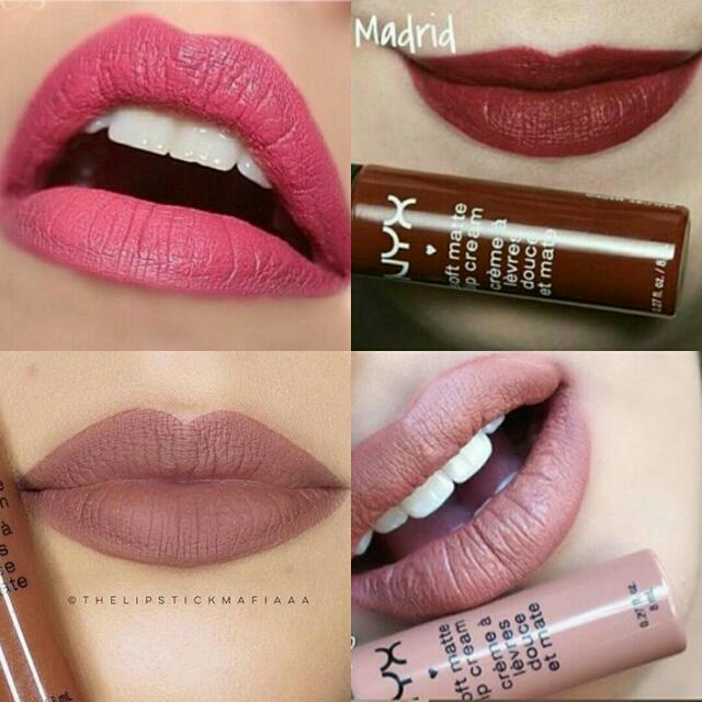 Bn Nyx Soft Matte Lip Cream Health Beauty Makeup On Carousell