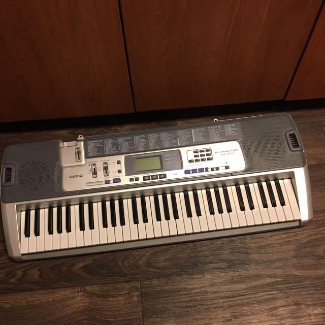 Casio Key Lighting System LK-100