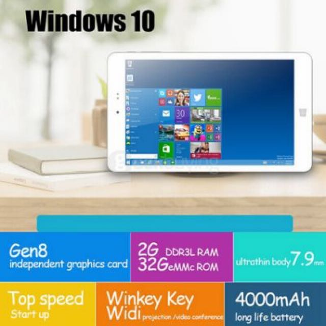 Chuwi Hi8 Pro Windows 10 and Android Tablet Dual Switch
