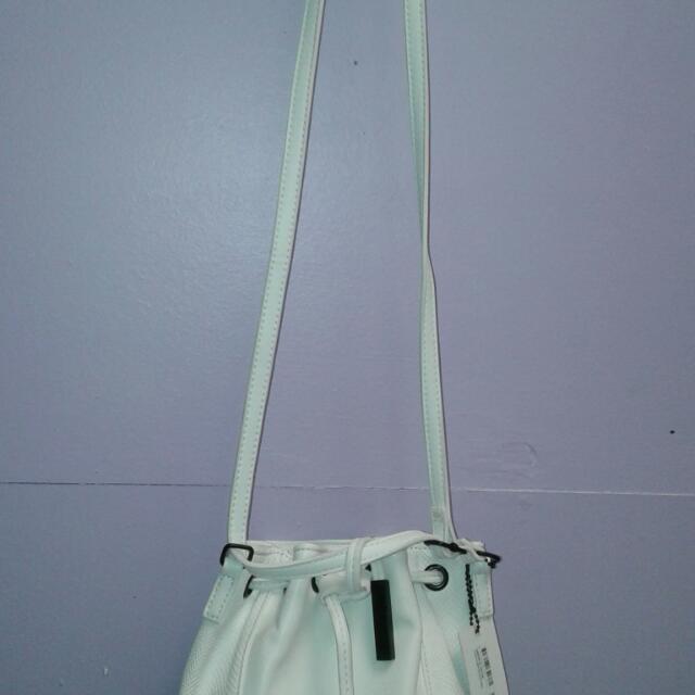 Collette Shoulder Bag - White Brand New RRP  $44.90