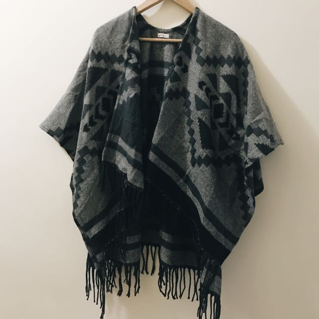Comfy Open Poncho