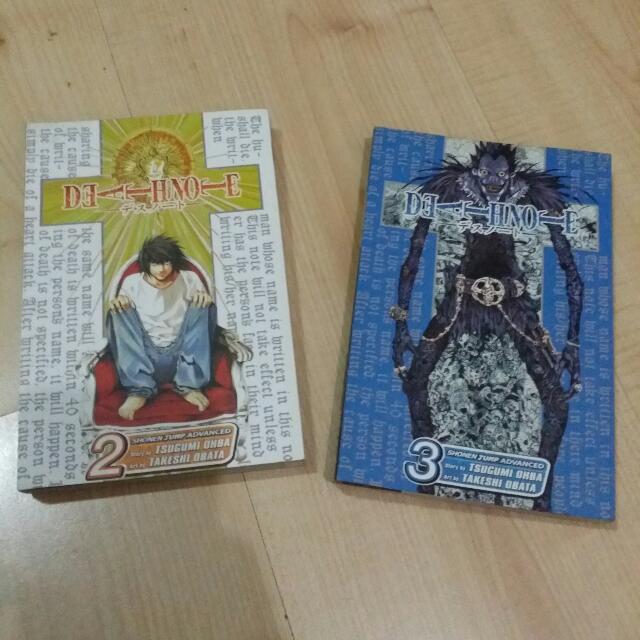 Death Note Manga Vol. 2-3