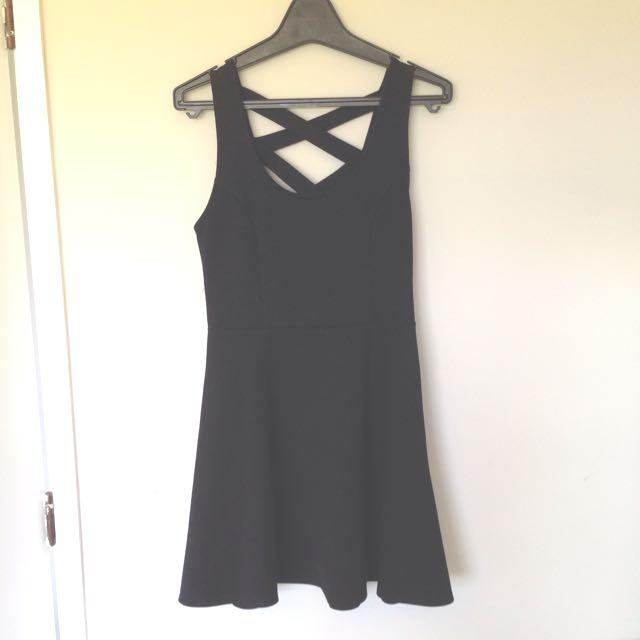 Dotti Black Dress XS