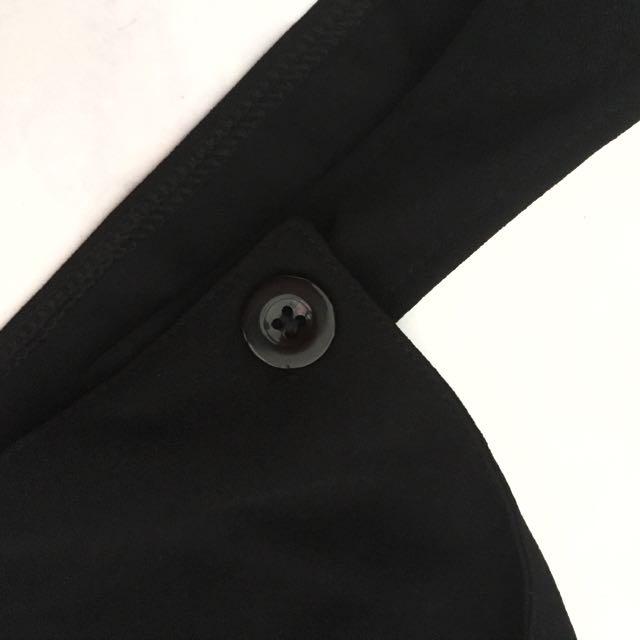 873dab84cdb Dungaree Romper Jumpsuit Cute Long Black Button Stylish