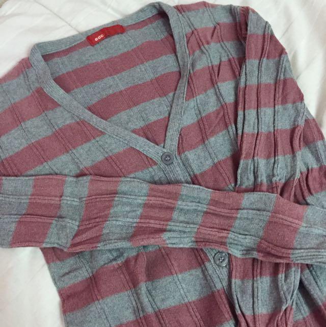 EDC Grey pink Cardigan